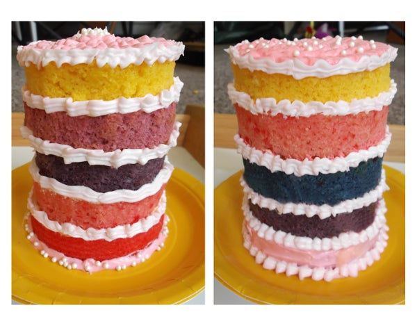 Layered Cake in a Can