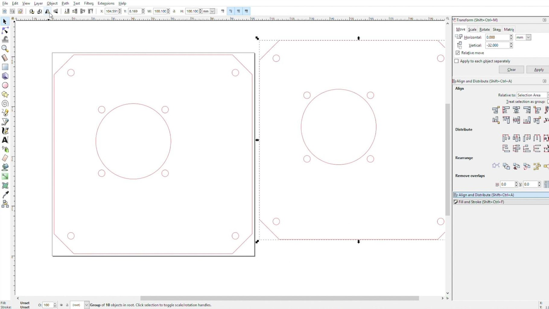 Design the Acrylic Sides
