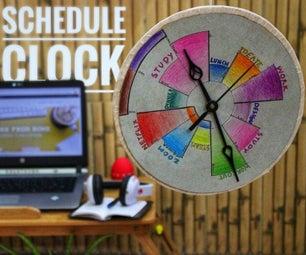 Schedule Clock: Your Virtual Productivity Assistant.