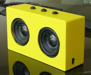 Make a Solar Bluetooth Speaker (Homebrew Big Jambox)