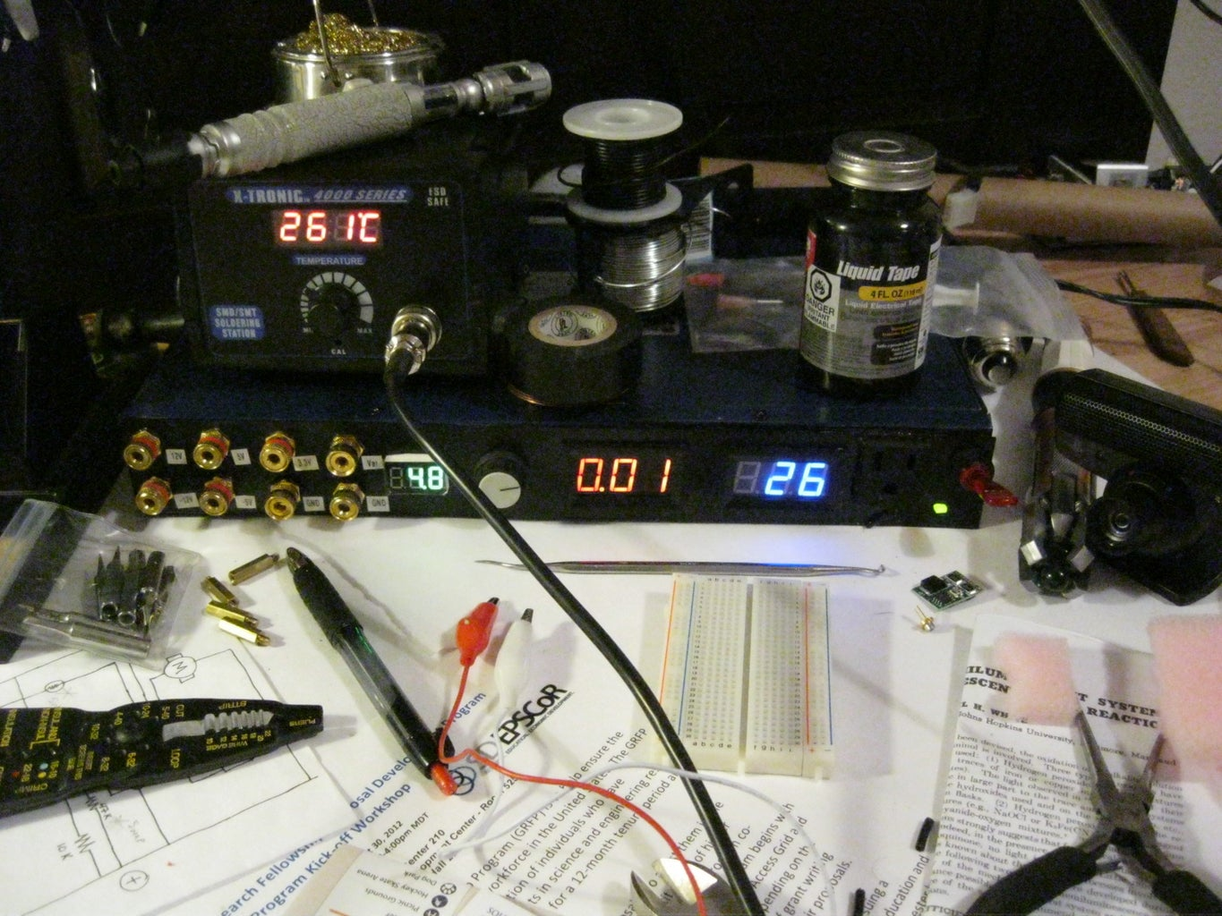 Variable Lab Power Supply
