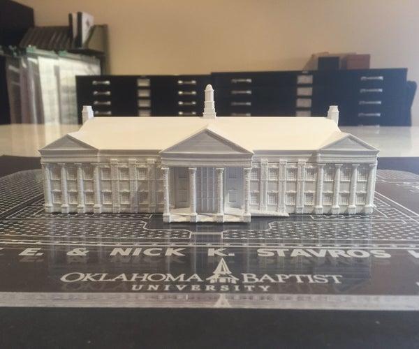 Refining ArchiCAD BIM Models to Print Buildings
