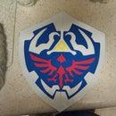 Hylian Shield - Zelda - Link