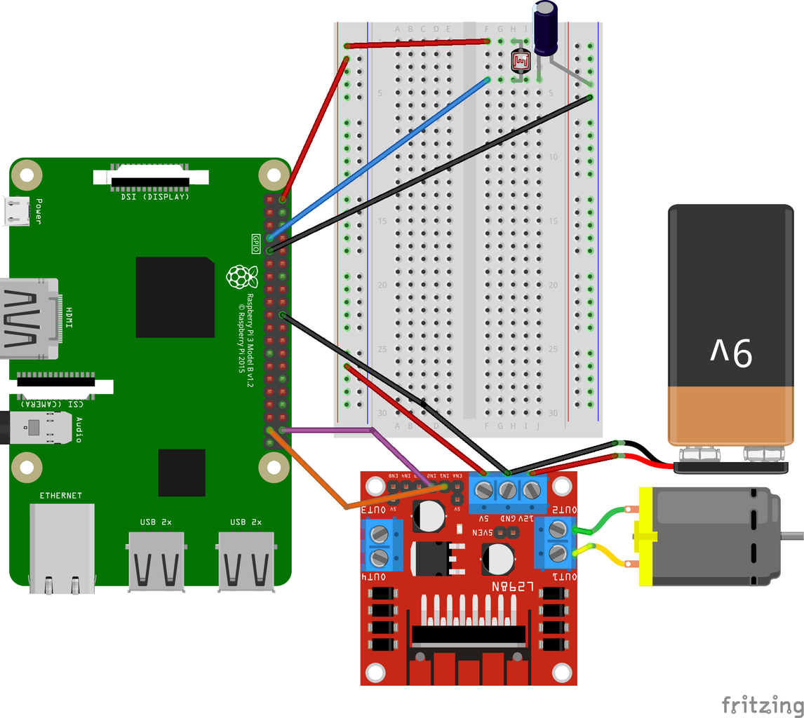 Configuring the DC Motor