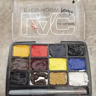 Travel Watercolor Palette (eye Shadow Box)