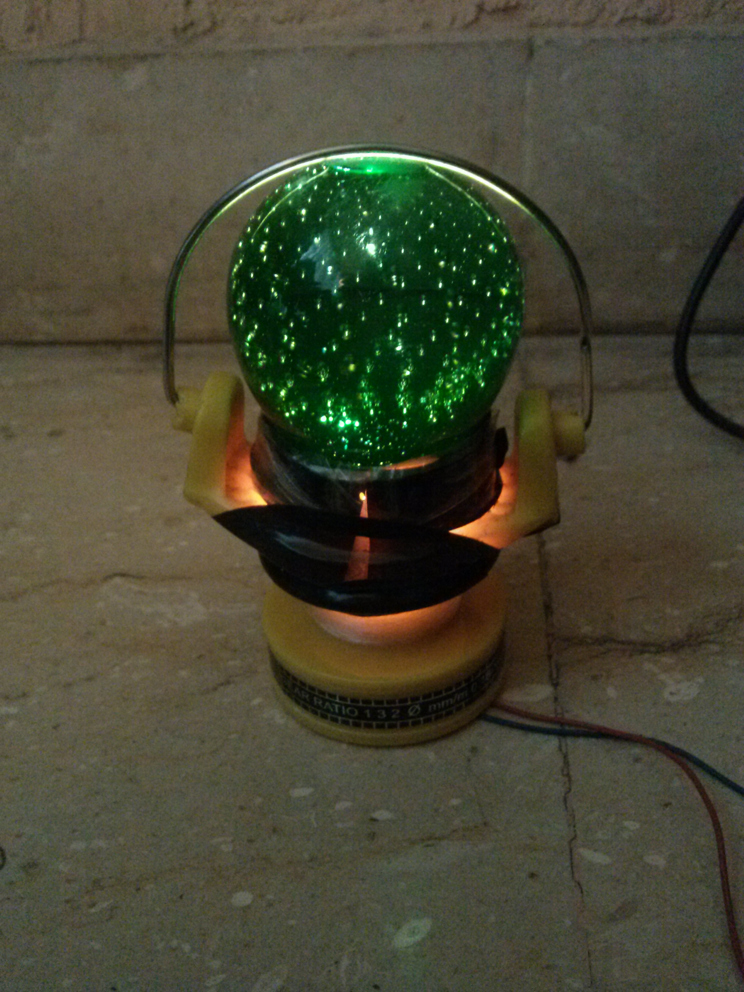 Small Decoration Lamp from House Products