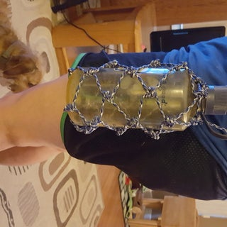 Paracord Bottle Holder Net