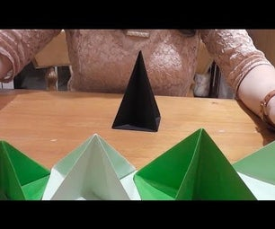 How to Make a 3D Origami Christmas Tree