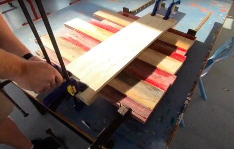 Glueing and Clamping