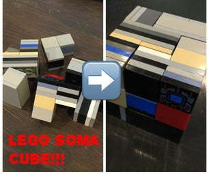 Make a Soma Cube Out of Legos!