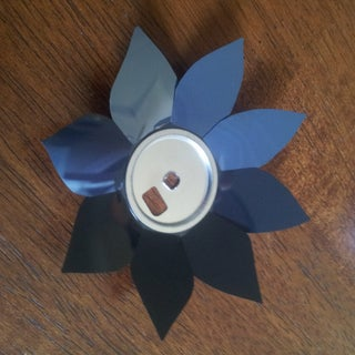Flower From a Floppy Disk