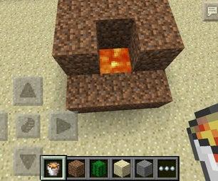 Minecraft Pocket Edition Incinerator