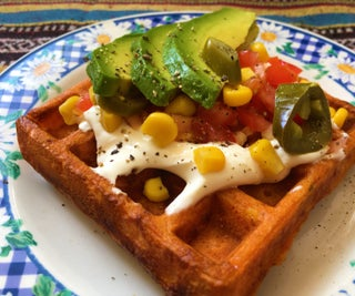 Eggless Waffle and Wrapless Wrap: the WRAFFLE