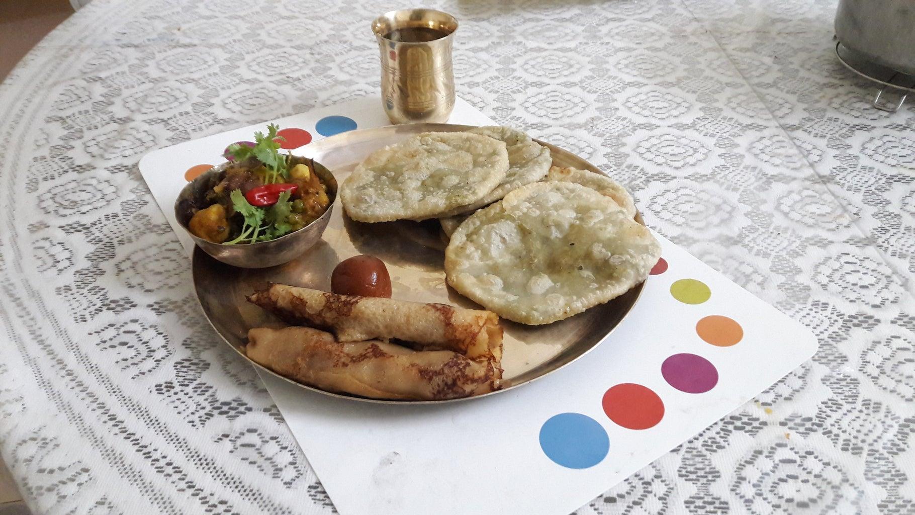 Traditional Bengali Breakfast