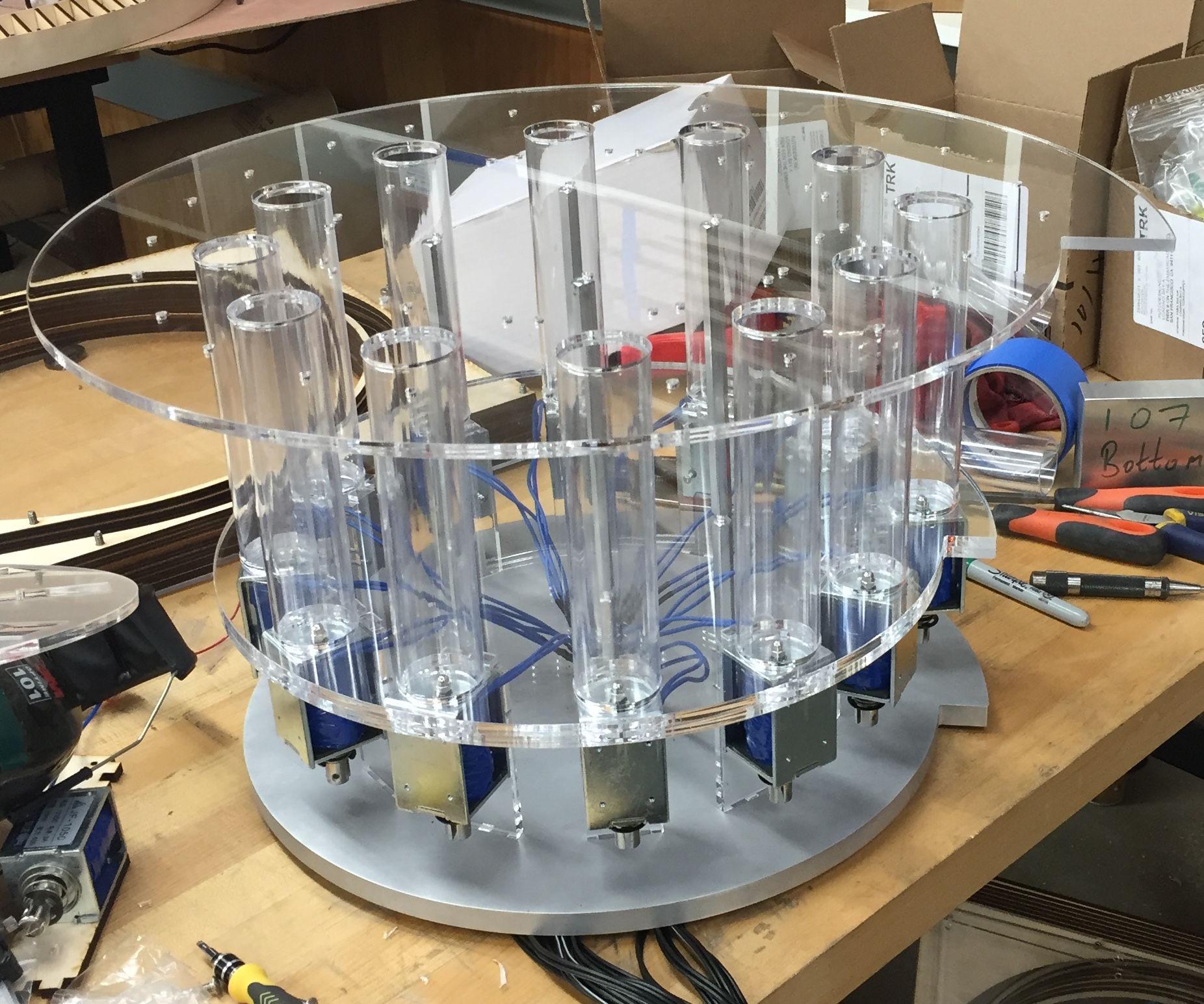 Mechanical Xylophone