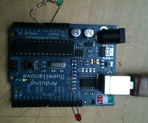 Arduino: Use LED As a Light Sensor