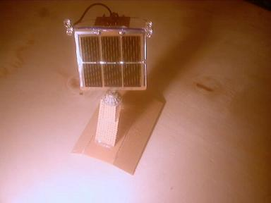 Robotic Solar Powered Sunflower