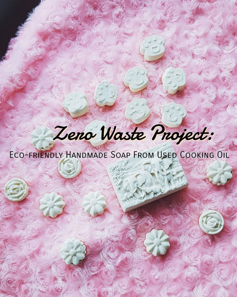 Zero Waste Project: Eco-friendly Handmade Soap Making With Kids From Used Cooking Oil