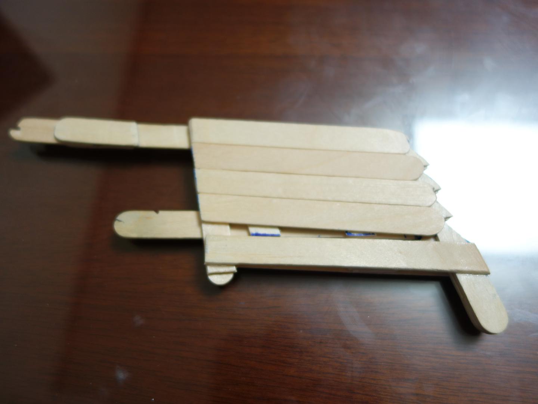 DIY rubber band gun