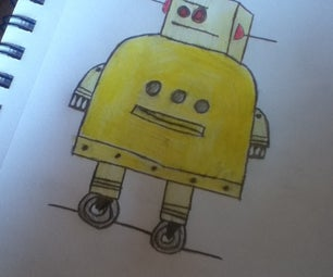 Drawing the Instructable Robot