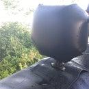 Motorcycle backrest