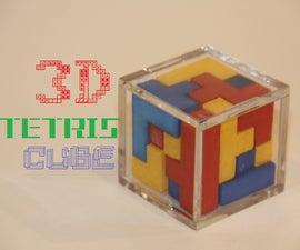 3D Printed Tetris Cube
