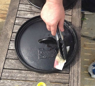 Apply Oil All Over to Your Dutch Oven, Including the Lid