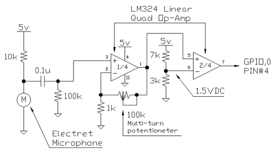 THE SIGNAL AMPLIFIER AND COMPARATOR
