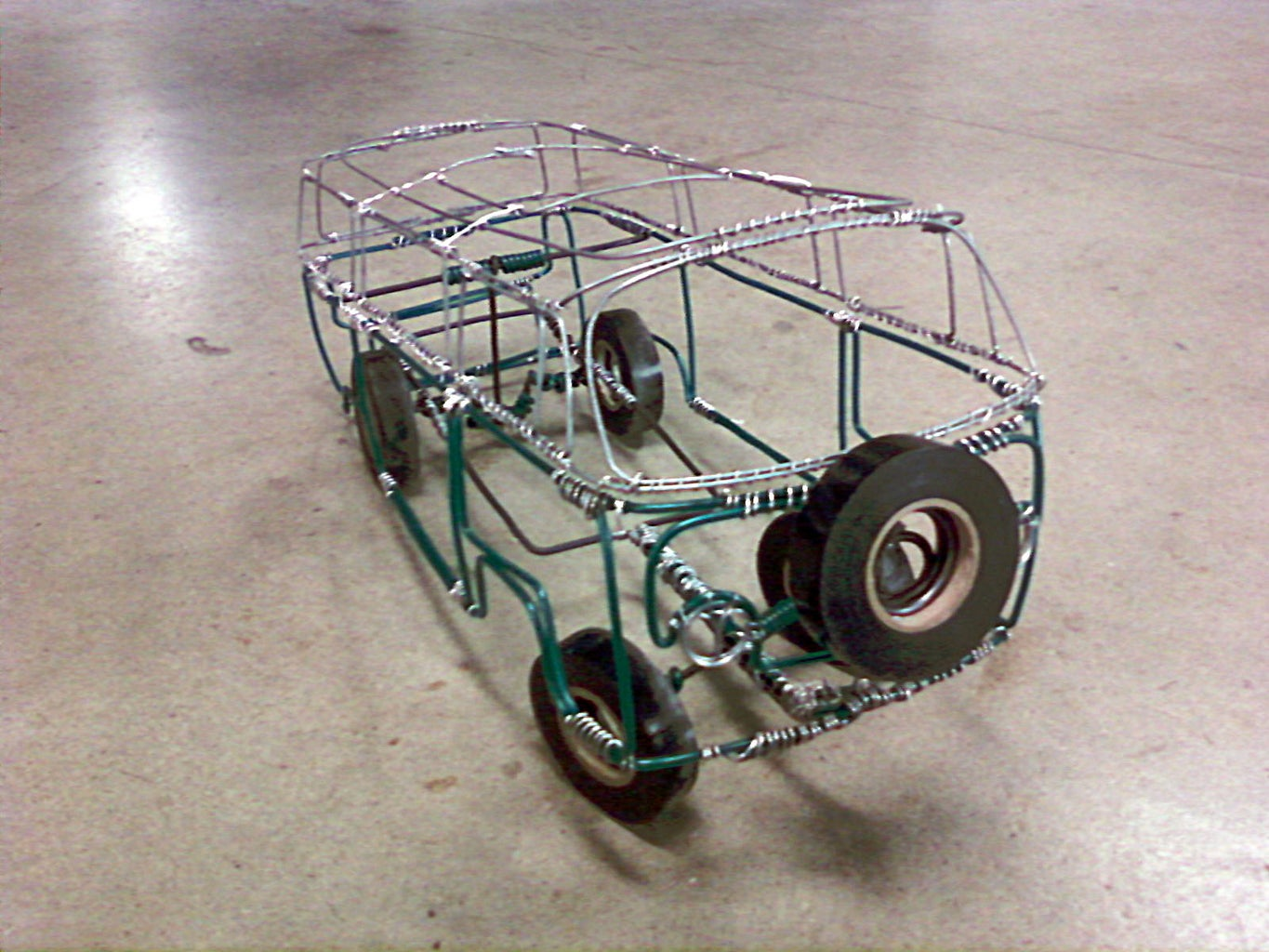 Make the Axles and Wheels