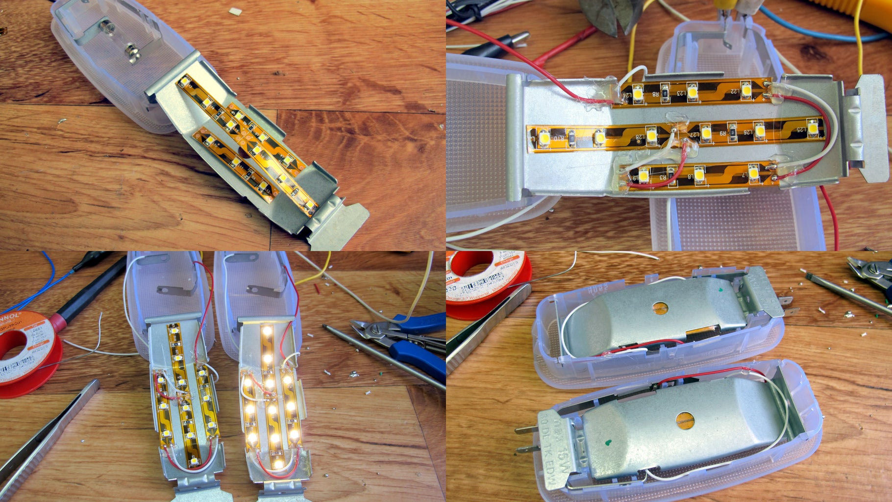 Finish the Rest of the Light Housings