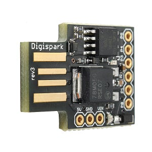 Digispark ATtiny85 Is the Heart of Our Project