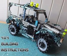 K'NEX 4x4 W/ Working Suspension & Front Steering
