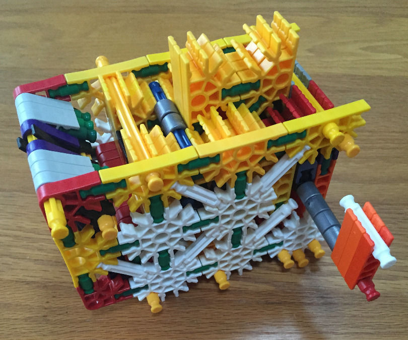 K'nex Lock and Key