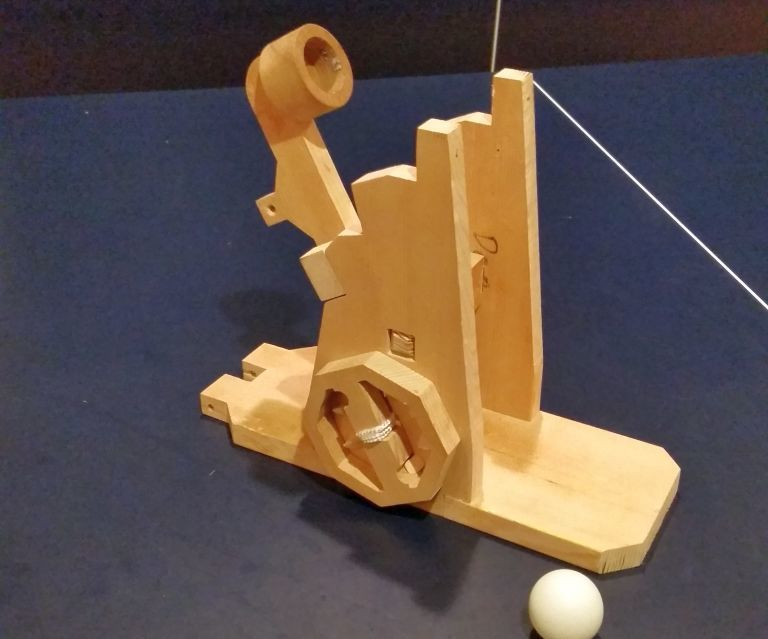 String-powered Catapult