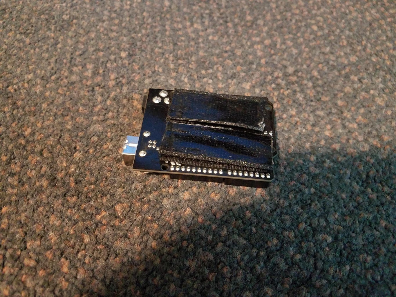 Mounting the Arduino