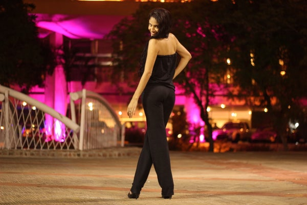How to Make a Strapless Jumpsuit