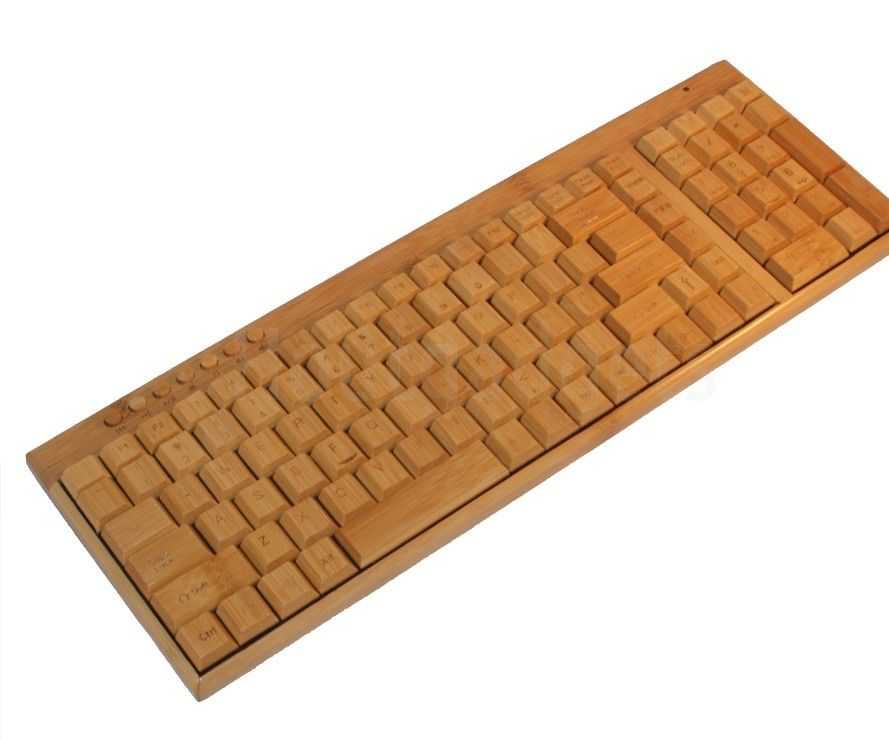 How to make a wooden keyboard