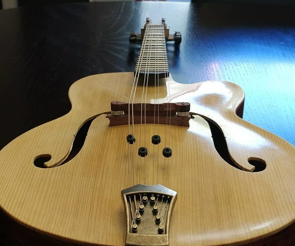 Making the Archtop Guitar Style Mandolin