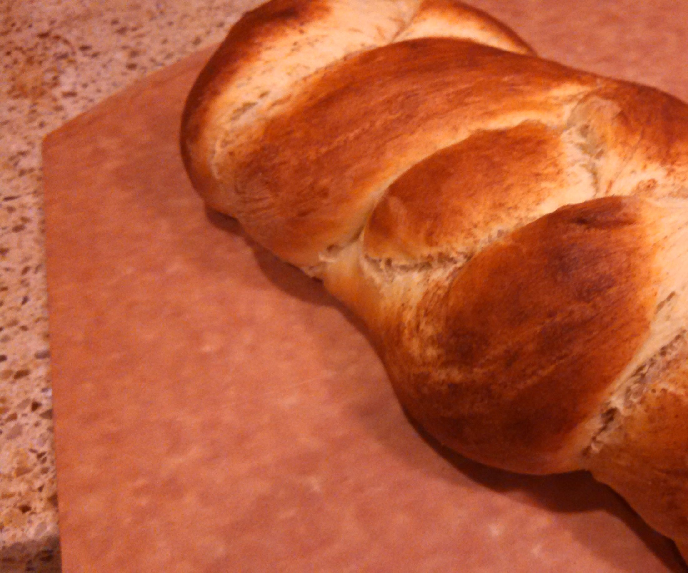 No-Knead Maple Challah, Made With Home-made Maple Syrup!