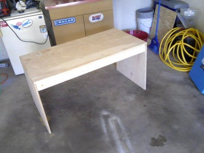 Complete Table - Ready for Stain