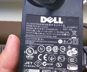 Modify a Dell Laptop Power Supply (PA-10)