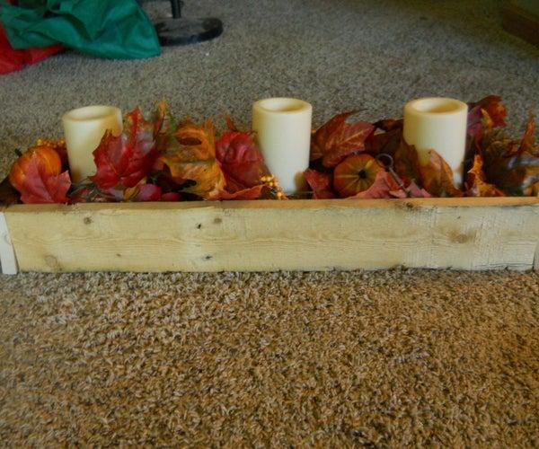 Fall Table Centerpiece