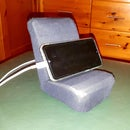 Mercedes 300 SL Seat Mobile Phone Stand