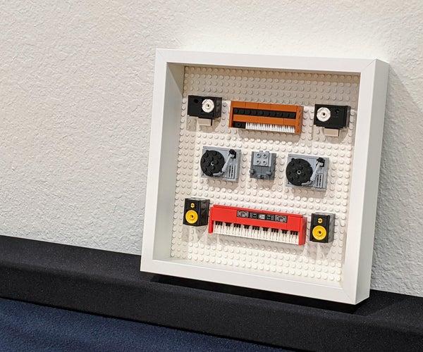 Ikea SANNAHED LEGO ShadowBox Display