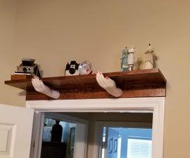 """A """"Hand-y"""" Shelf"""