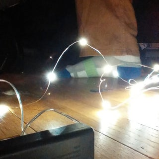 Convert a Battery Powered LED Lamp to USB Power.