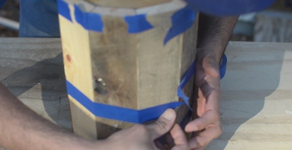 Glueing the Staves and Shaping the Barrel