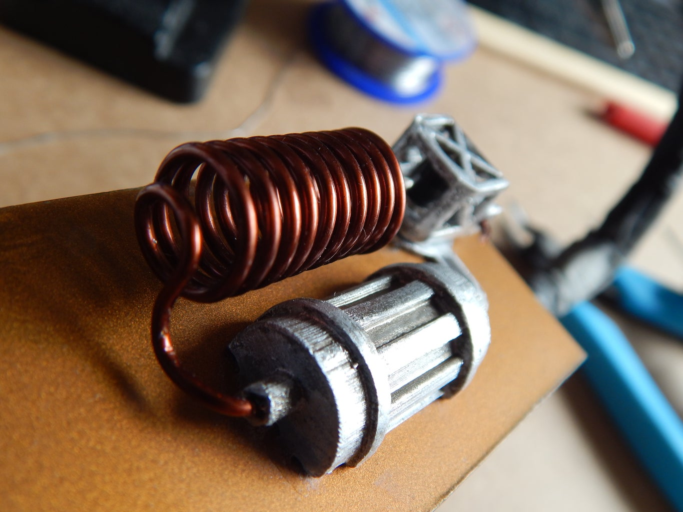Creating and Installing a Decorative Coil