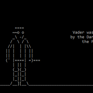 How to Watch Starwars With Computer Symbols on Command Prompt