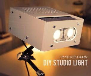 DIY 10000 LUMEN LED工作室灯(CRI 90+)